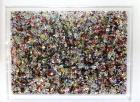 Papier bulle sous Plexi (100x140cm)