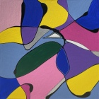 Kühle Komposition (80x80cm)